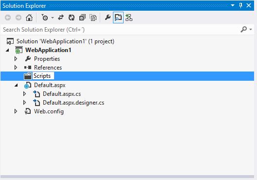 Visual Studio 2012, rename folder in Solution Explorer